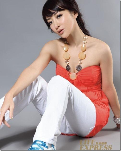 "Pesona Artis Sexsy Dan Cantik ""Emily Chen Zihan"""